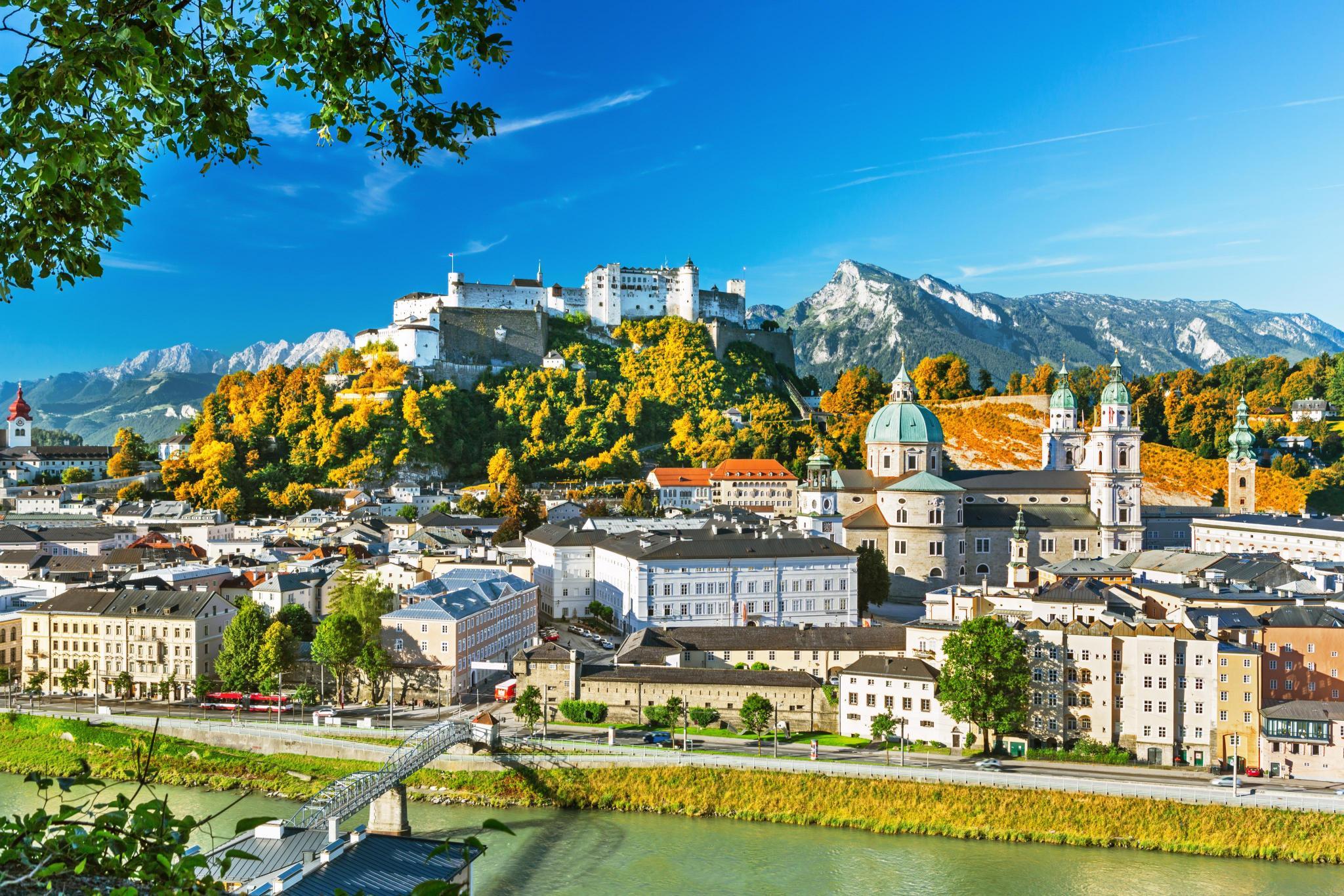 Как добраться из Вены в Зальцбург